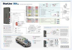 Схема подключения D 64 A2_face_v2